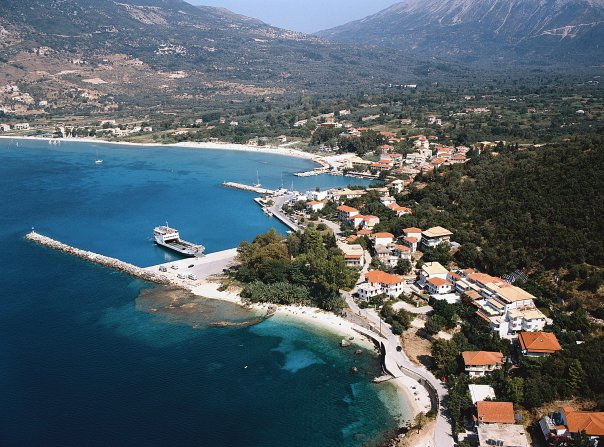 Vassiliki panorama view